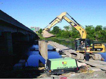 (2012-2014) Highway 417, Re-Construction of the Hurdman Bridge over the Rideau River